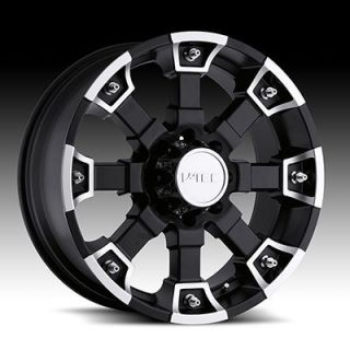 BRUTAL 6X5 5 ESCALADE SUBURBAN YUKON RODEO BLACK WHEELS RIMS FREE LUGS