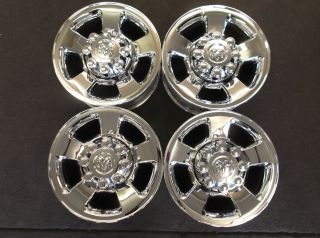 17 Dodge RAM 2500 3500 Chrome Clad Alum Wheels Rims OE