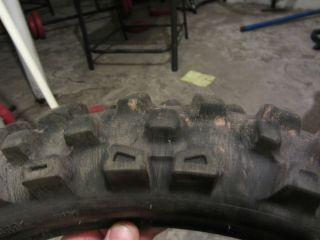 Bridgestone M 404 120 80 19 Dirt Bike Rear Tire