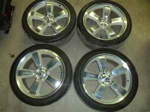 Dodge Charger SRT 8 20x9 Wheels Rims w Tires