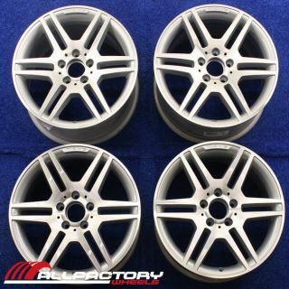 MERCEDES C300 C350 17 2008 2009 2010 2011 AMG OEM RIM WHEEL SET 65529
