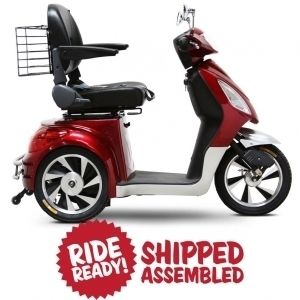EW 36 Ewheels Fast Electric Mobility Scooter 15 MPH Wheely Bar