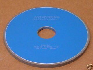 Norton ASD150 R75B56 1 8 Diamond Grinding Wheel