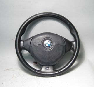 BMW E36 M Sports 3 Spoke Steering Wheel w Airbag 92 99 318is 323i 328i