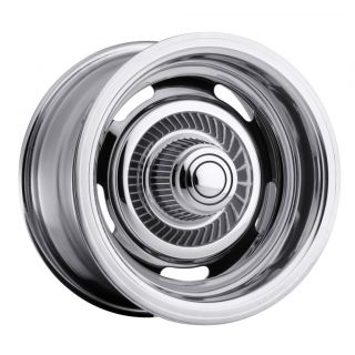 15 x7 inch Vision Rally Chrome Wheels Rims 5x5 5x127
