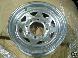 16 Galvanized Spoke Trailer Rim Wheel Tire Carg 20781