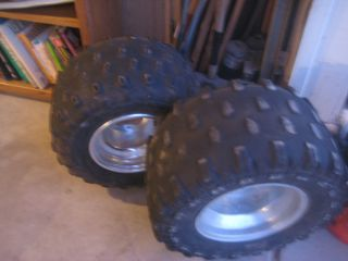 Stock Yamaha Raptor 700 Rims Tires