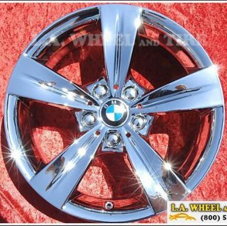 of 4 New 18 BMW 325i 328i 323i 335i Chrome OEM Wheels Rims Z4 Z3 71320