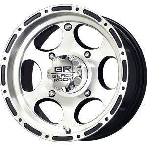 New 14X7 4x137 Black Rock Revo ATV Black Wheels Rims