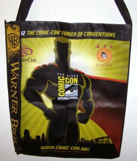 NEW Comic Con 2012 FRINGE Warner Bros Swag Bag TOTE WB SDCC GIANT FREE