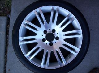 MERCEDES E350 E550 E55 OEM 18 wheel rim TIRE 07 2007 08 2008 09 2009