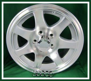 14 Aluminum 7 Spoke Trailer Rim Wheel 5 on 4 5