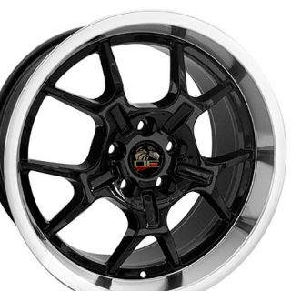 10 Black GT4 Wheels Set of 4 Rims Fit Mustang® GT 94 04