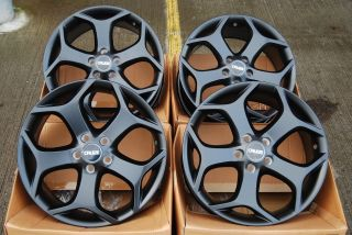 18 Blk St Alloy Wheels Fits Ford Kuga