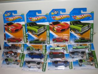 2012 Hot Wheels Treasure Hunt Lot of 16 Hard to Find WOW