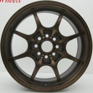 15 Rota Circuit 8 Rim Integra Civic CRX MR2 Miata Wheel