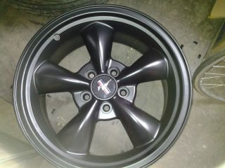 Ford Mustang GT Wheels 17 inch Satin Black
