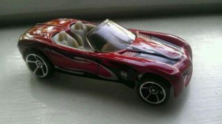 Hot Wheels Dodge Concept Car Mystery Orange Color