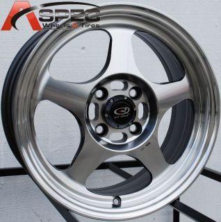 15x6 5 Rota Slipstream Rim 4x100 Wheels Fits 4 Lug Civic CRX XB Miata