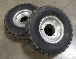 Banshee Front Wheels Tires YFZ Raptor Warrior ATV 450 350