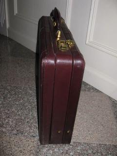 Mark Phillip Laptop Briefcase Leather Brown 18