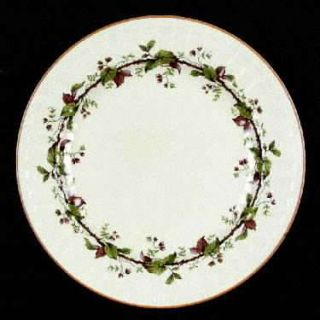 Crown Ducal 3566 Dinner Plate, Fine China Dinnerware   Early English,Thorn Vine,
