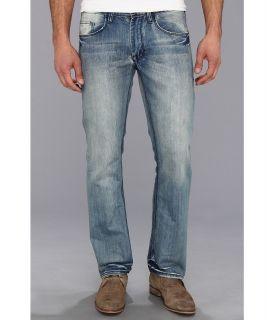Buffalo David Bitton Driven Straight Leg in Vintage Light Mens Jeans (Blue)