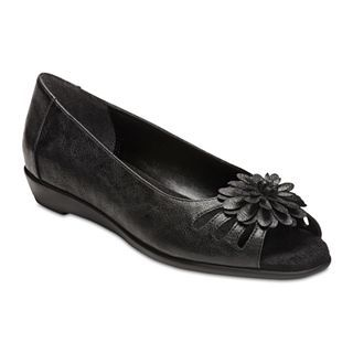 A2 BY AEROSOLES Big Hearted Slip On Shoes, Black, Womens