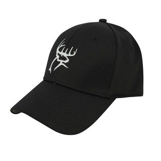 Buck Commander Black A Flex Fitted Hat (BlackDimensions: 12 inches x 8 inches x 4 inchesWeight: 0.3 pound )