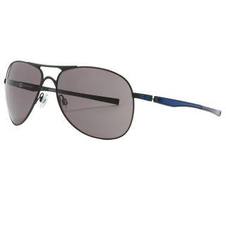 Oakley Moto GP Plaintiff Sunglasses   MATTE BLACK/BLUE/WARM GREY ( )