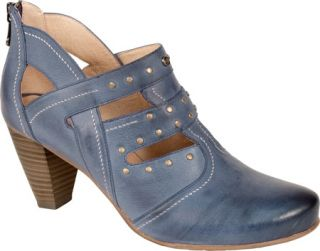 Womens Blondo Judith   Navy Blanche Neige Leather Ornamented Shoes