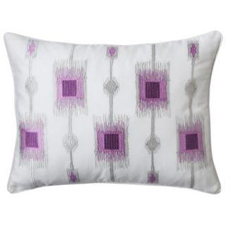 Castle Hill Bonaire Pillow   Pink/Gray (14x18)