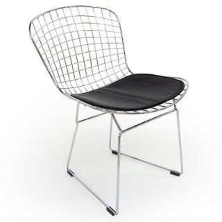 Aeon Furniture Wendy Side Chairs   Set of 4   Black   DC 232 BLACK PAD