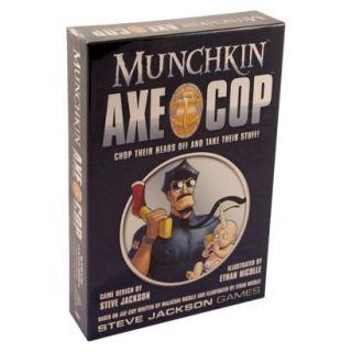 MUNCHKIN Axe Cop Steve Jackson Card Game