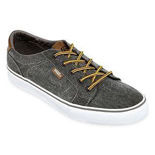Vans Bishop Mens Skate Shoes, Washed Canvas/blac