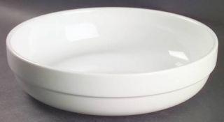 Oneida Toms Diner 8 Individual Pasta Bowl, Fine China Dinnerware   All White,Na