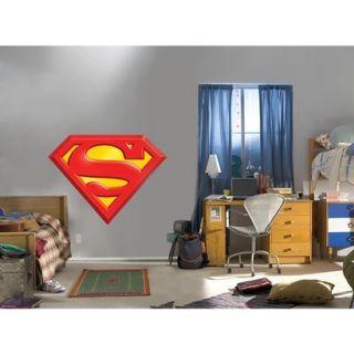 Fathead Superman Logo Wall D cor   37Lx49W