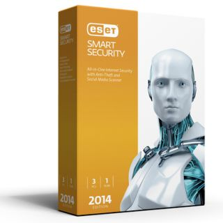 ESET Smart Security 2014 Edition   Three User (PC Software)