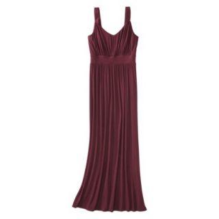 Merona Petites Sleeveless Maxi Dress   Berry XXLP