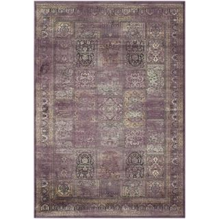 Safavieh Vintage Purple / Fuchsia Rug VTG127 880 5 / VTG127 880 8 Rug Size: 5