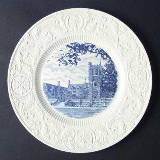 Wedgwood Duke University Blue Dinner Plate, Fine China Dinnerware   Blue Univers