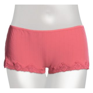 Calida Etude Panties   Boy Cut Briefs (For Women)   HOT CORAL (L )