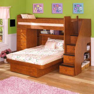 ... Berg Furniture USA Inc Sierra Twin Over Full Spacesaver Loft BRG756 ...