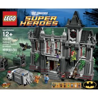 LEGO Superheroes Batman   Arkham Asylum Breakout 10937