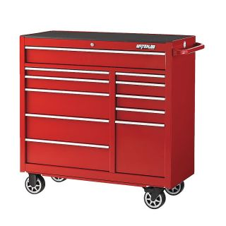 Waterloo Professional Series Tool Chest   41X20x41   11 Drawers   Red