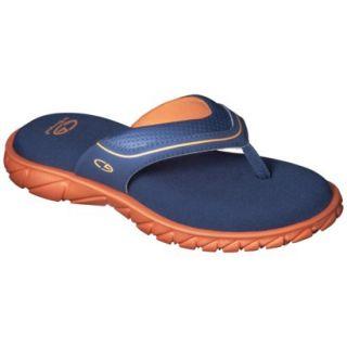 Boys C9 by Champion Pat Flip Flop Sandals   Navy/Orange M