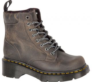 Womens Dr. Martens Dharma Plain Toe Boot   Black Greenland Boots