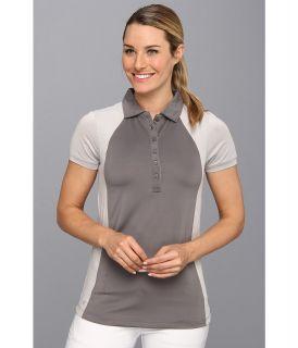 Heather Grey Paige Womens Short Sleeve Knit (White)