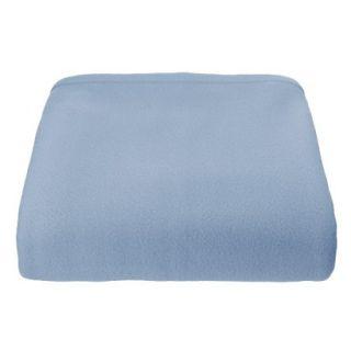 Super Soft Fleece Blanket   Blue (King)