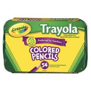 Crayola Trayola Colored Pencils   54 Count